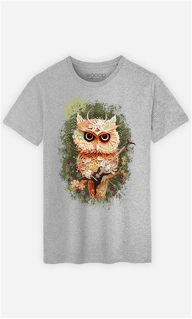 T-Shirt Gris Homme Autumn Metal Festival
