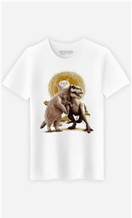 T-Shirt Blanc Homme Tom et Scary