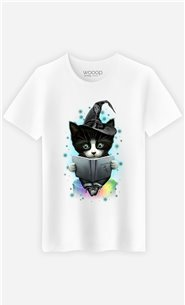 T-Shirt Blanc Homme The magician