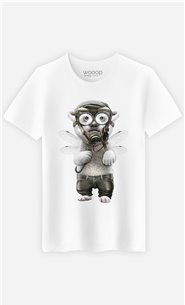 T-Shirt Blanc Homme Pilot polar