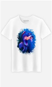 T-Shirt Blanc Homme Goldfish