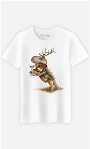 T-Shirt Blanc Homme Costume party