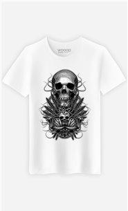 T-Shirt Blanc Homme Beast