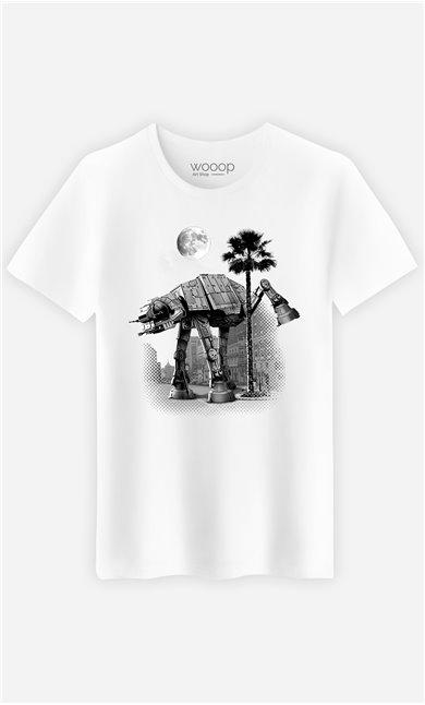 T-Shirt Blanc Homme Ata Pee Time