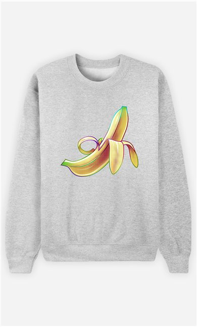 Sweat Gris Femme Banana