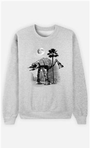 Sweat Gris Homme Ata Pee Time