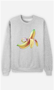 Sweat Gris Homme Banana