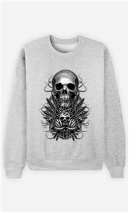 Sweat Gris Homme Beast