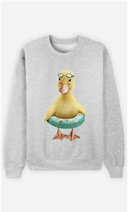 Sweat Gris Homme Duck