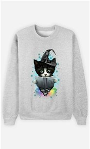 Sweat Gris Homme The magician