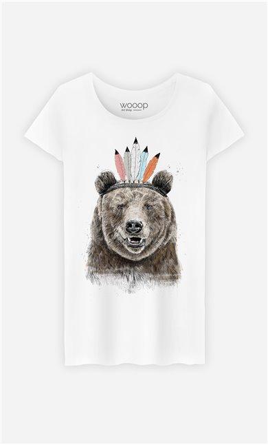 T-Shirt Femme Festival Bear