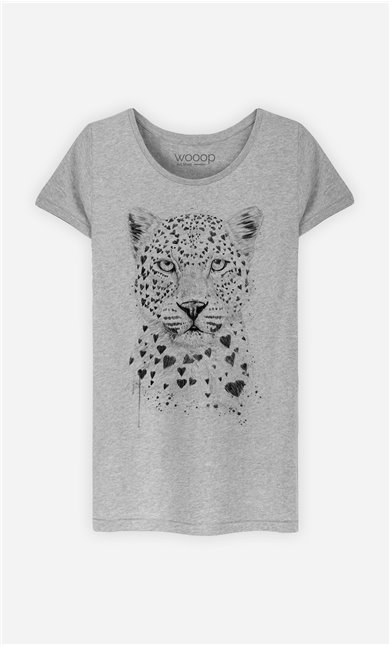 T-Shirt Femme Lovely Leopard
