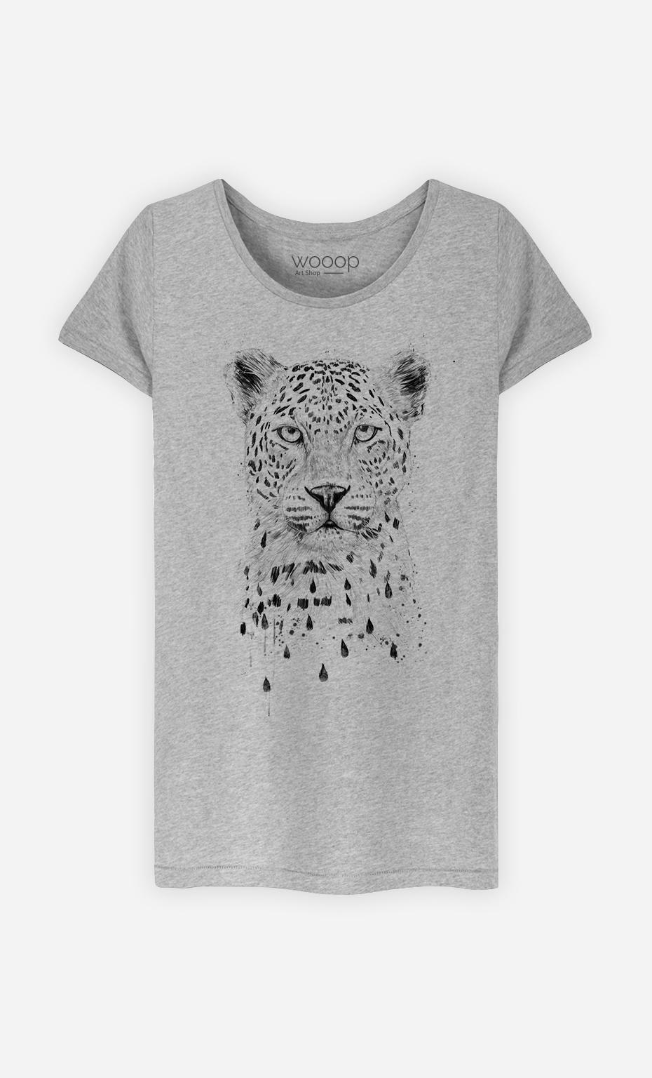 T-Shirt Femme Raining again