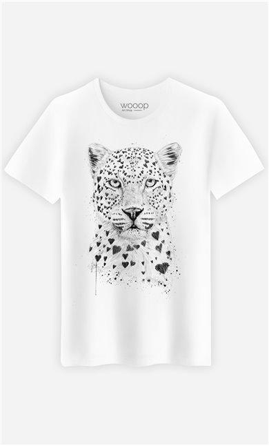 T-Shirt Homme Lovely Leopard