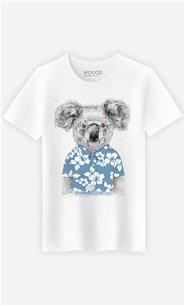 T-Shirt Homme Summer Koala Blue