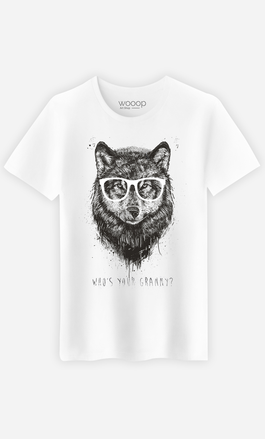 T-Shirt Homme Who's your Granny?