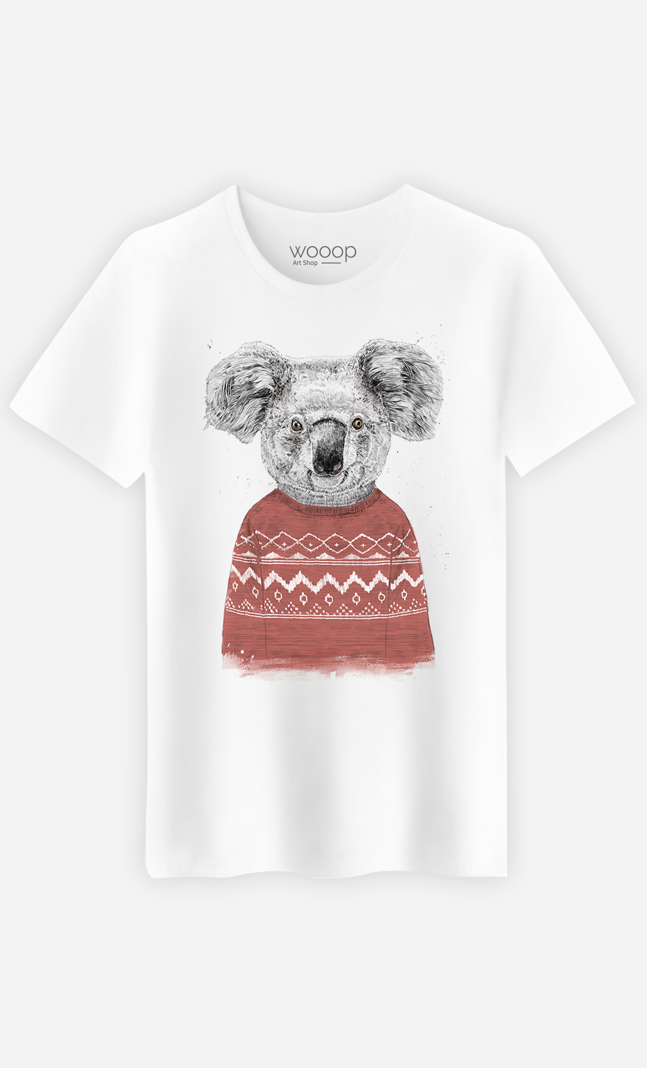 Koala T Homme Winter Shirt Red E2WDI9H