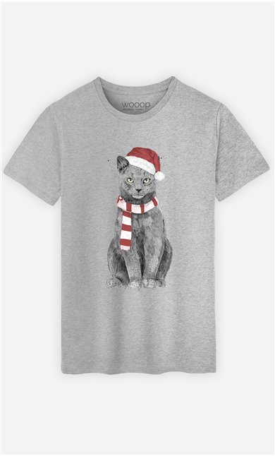 T-Shirt Homme Xmas Cat