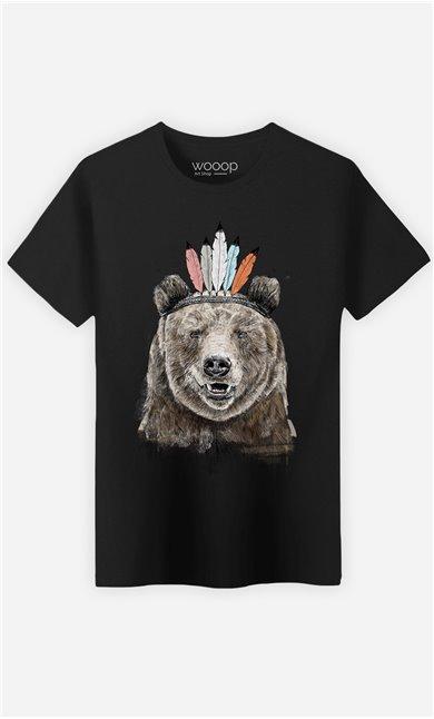 T-Shirt Homme Festival Bear