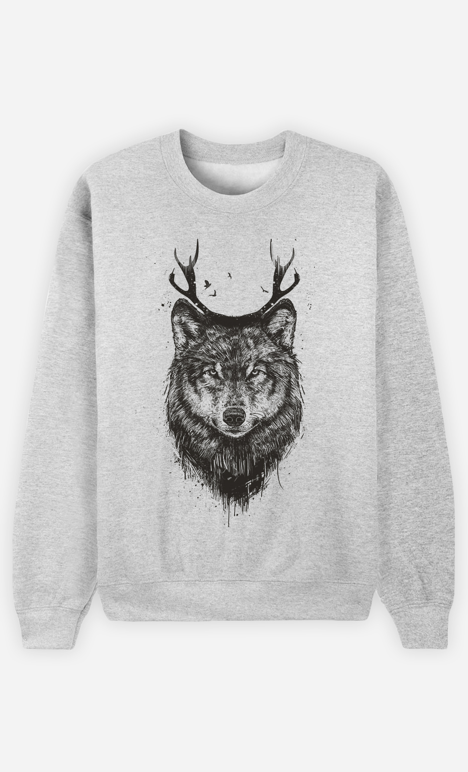 Sweat Femme Deer Wolf