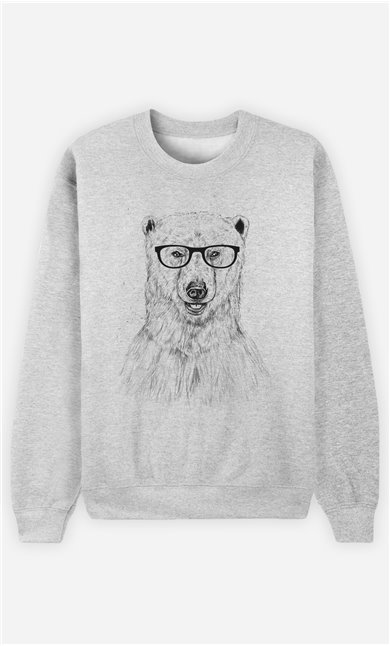 Sweat Femme Geek Bear