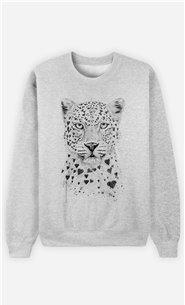 Sweat Femme Lovely Leopard