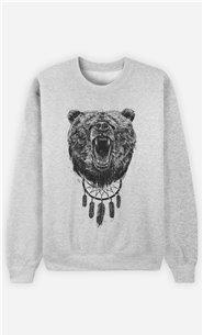Sweat Homme Don't wake the bear