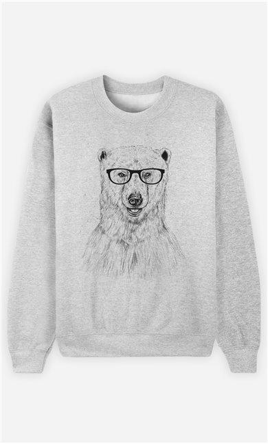 Sweat Homme Geek Bear