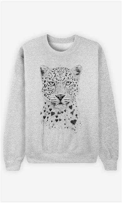 Sweat Homme Lovely Leopard