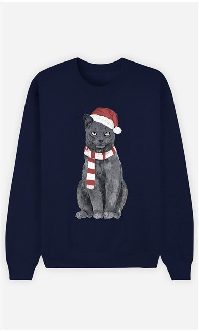 Sweat Homme Xmas Cat