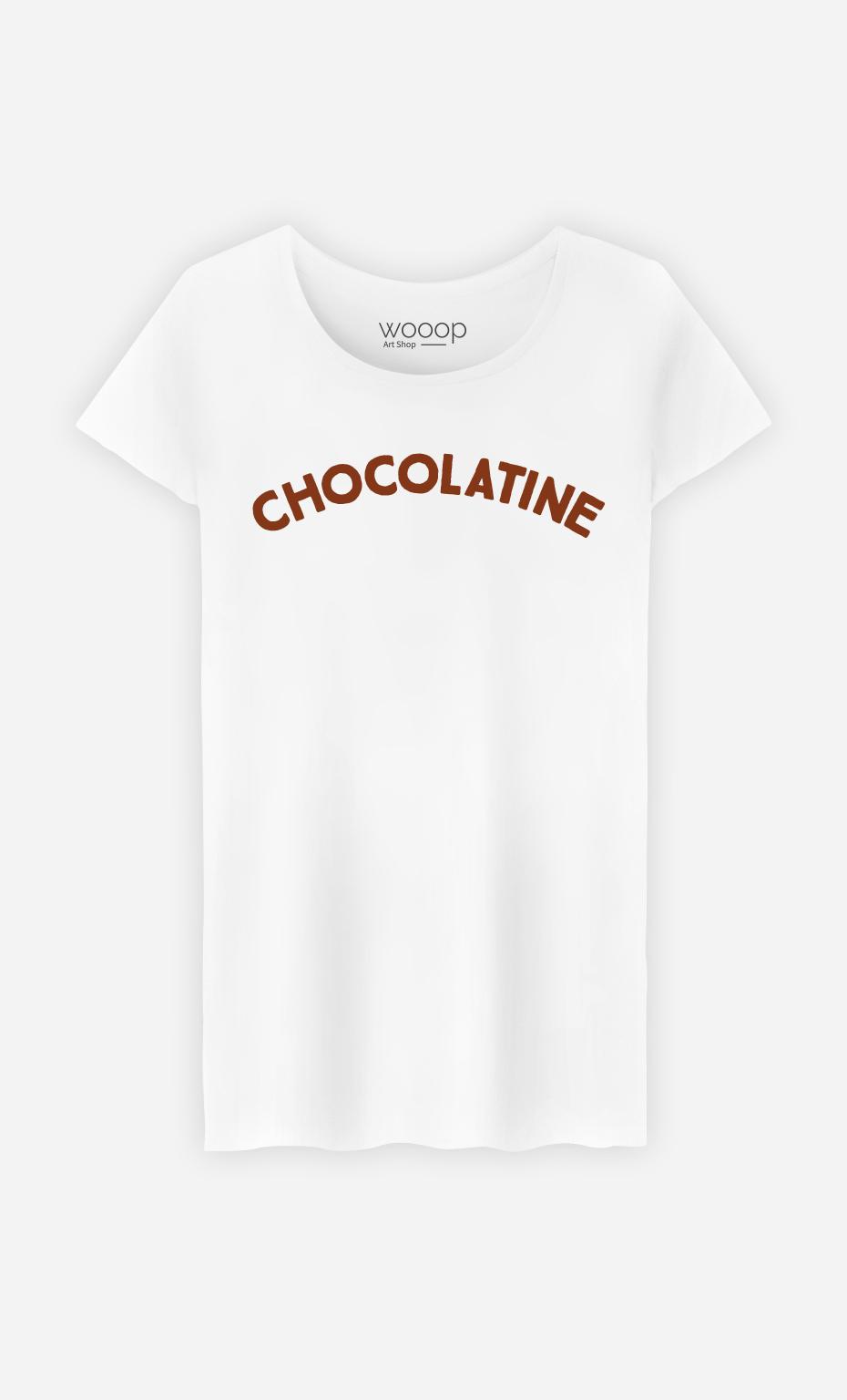 T-Shirt Femme Chocolatine