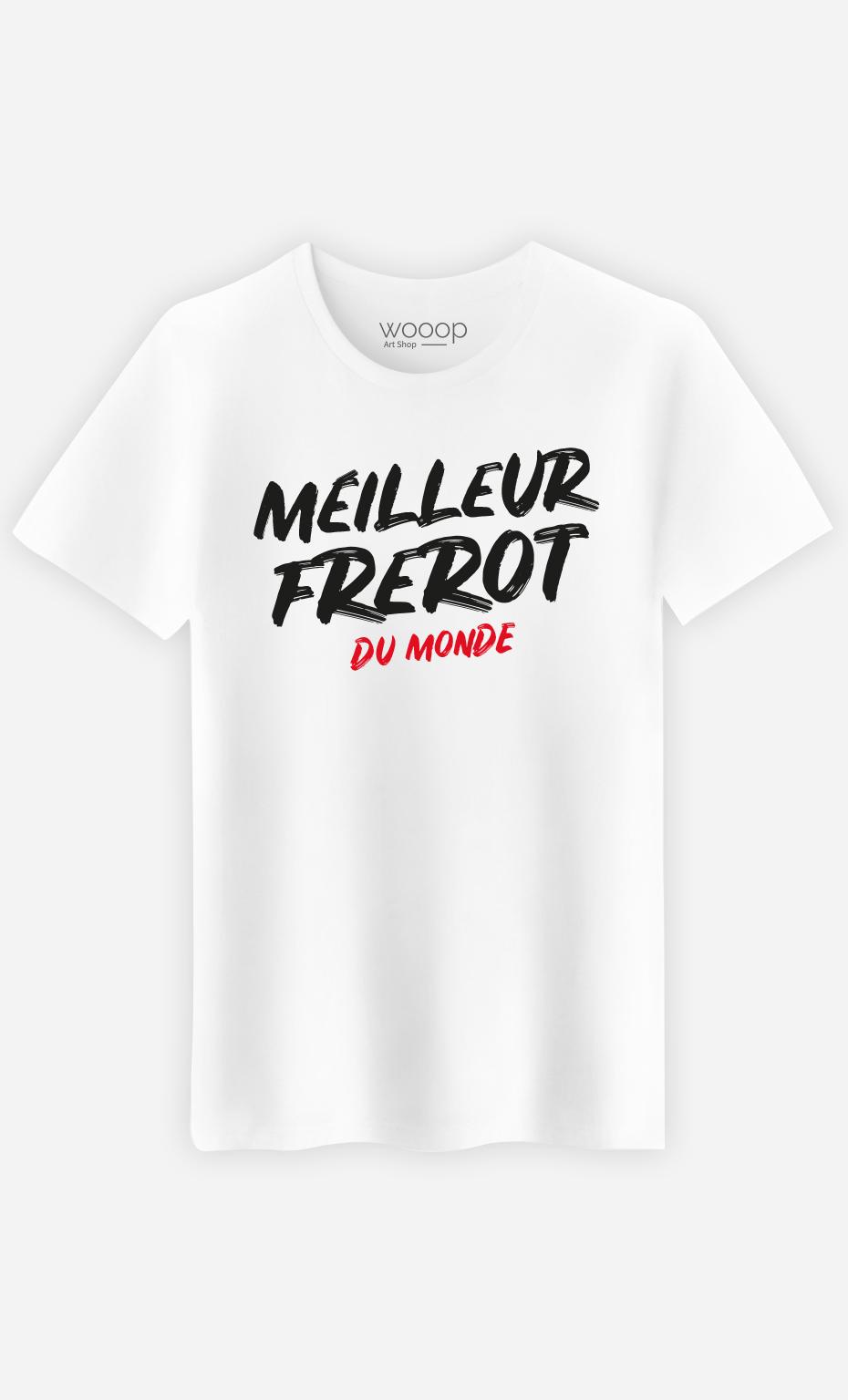 T-Shirt Homme Meilleur Frérot du Monde