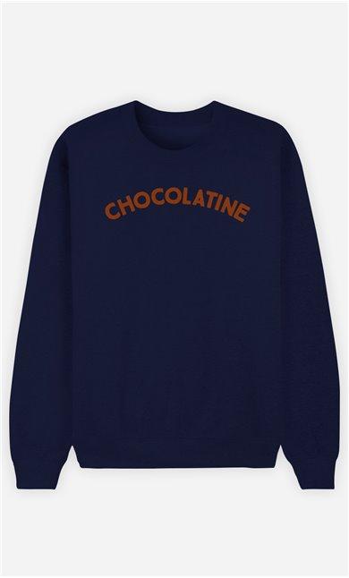 Sweatshirt Femme Chocolatine