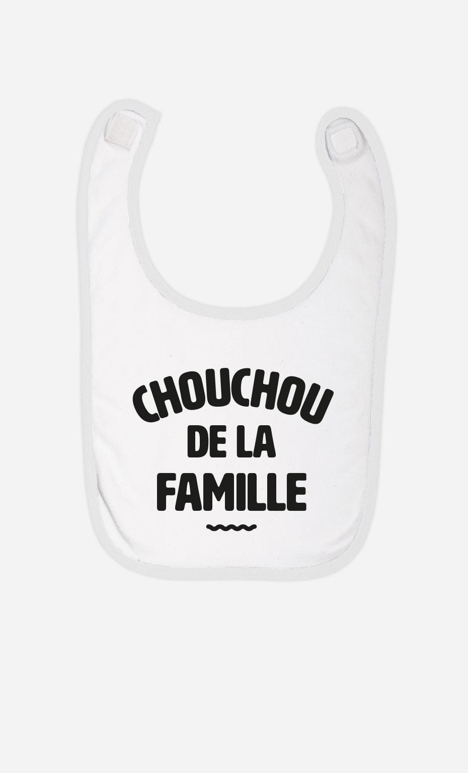Bavoir Bébé Chouchou de la Famille