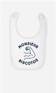 Bavoir Bébé Monsieur Biscotos