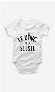 Body Bébé Le King de la sieste