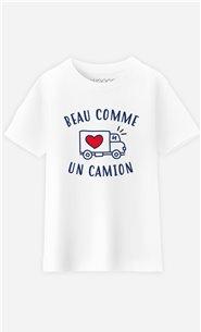 T-Shirt Enfant Beau comme un Camion