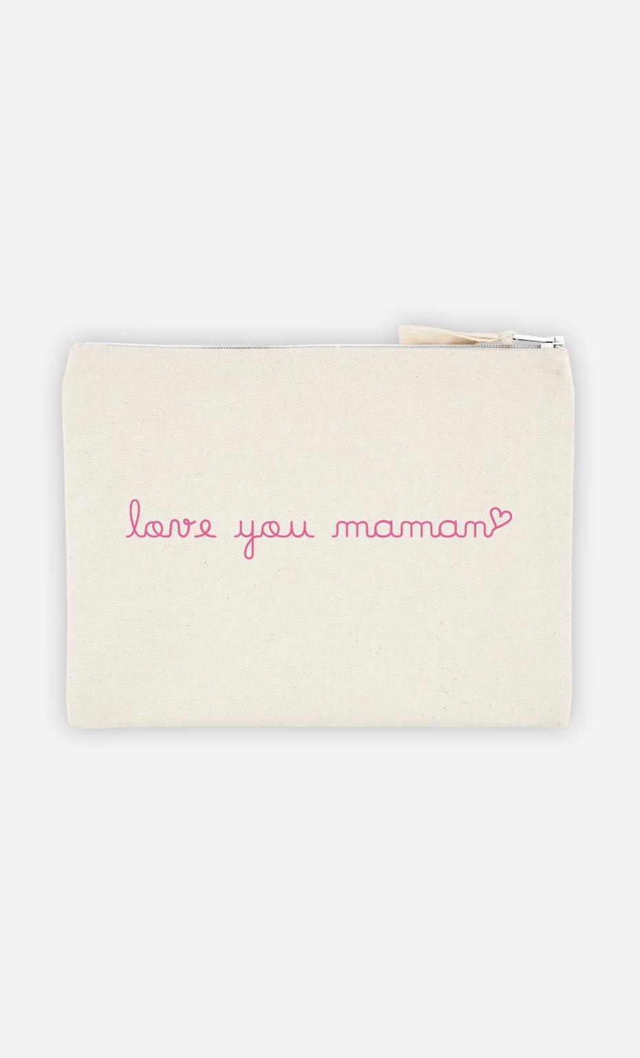 Pochette Love you Maman