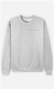 Sweatshirt Femme Love you Maman