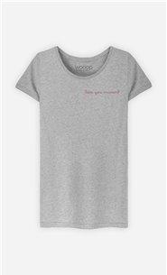 T-Shirt Femme Love you Maman