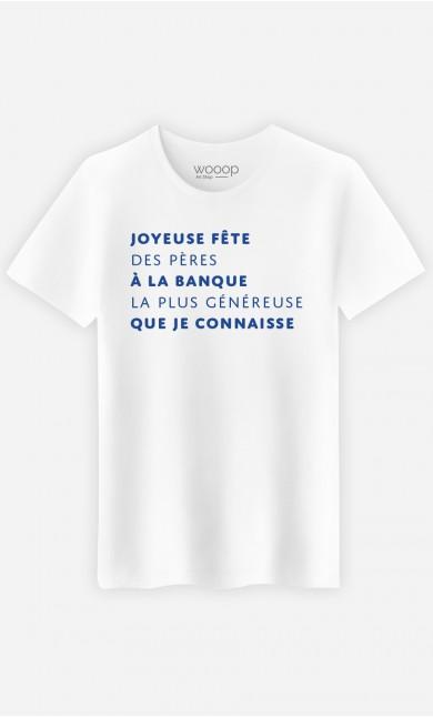 T-Shirt Homme Joyeuse Fête des Pères
