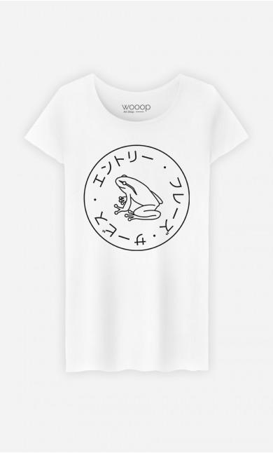 T-Shirt Femme Frog Society