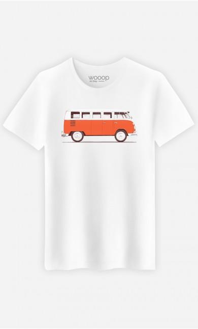 T-Shirt Homme Red Van