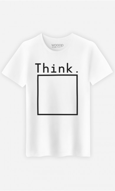 T-Shirt Homme Think