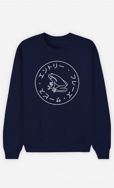 Sweatshirt Femme Frog Society