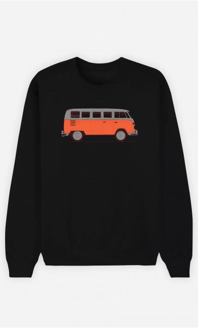 Sweatshirt Homme Red Van