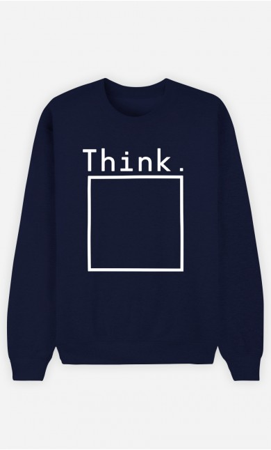 Sweatshirt Homme Think