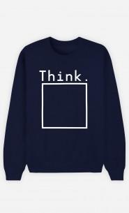 Sweatshirt Homme Think