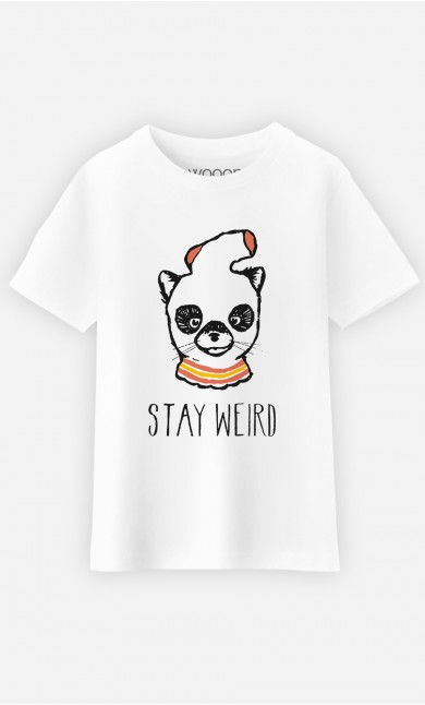 T-Shirt Enfant Stay Weird