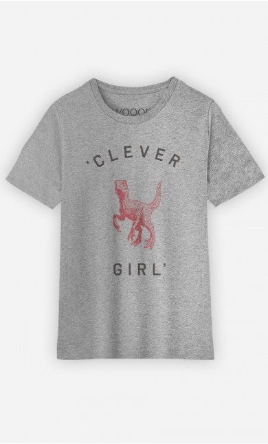 T-Shirt Enfant Clever Girl